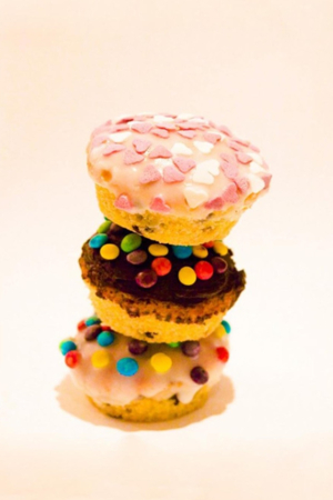 Sweets Candies Colorful Cupcake IPhone Wallpaper Mobile Wallpaper