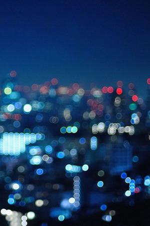 City Night Bokeh IPhone Wallpaper Mobile Wallpaper