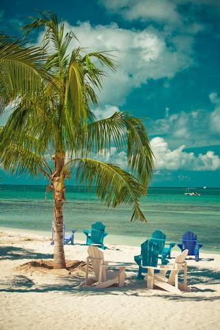 Amazing Beach Rest IPhone Wallpaper Mobile Wallpaper