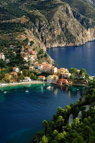 Kefalonia Island Greece IPhone Wallpaper Mobile Wallpaper