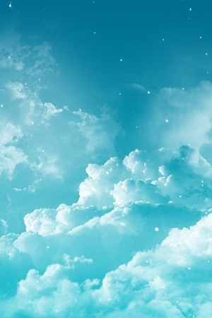 Dreamy Cloudy Blue Sky IPhone Wallpaper Mobile Wallpaper