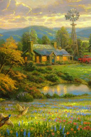 Lovely House In Garden Flowers IPhone Wallpaper Mobile Wallpaper