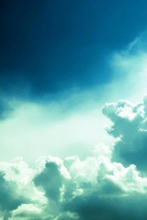 Dreamy Clouds Sky Blue IPhone Wallpaper Mobile Wallpaper
