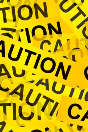 Caution IPhone Wallpaper Mobile Wallpaper