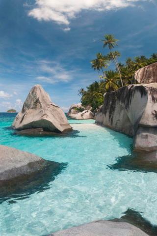 Pulau Dayang Beach Beauty Nature IPhone Wallpaper Mobile Wallpaper