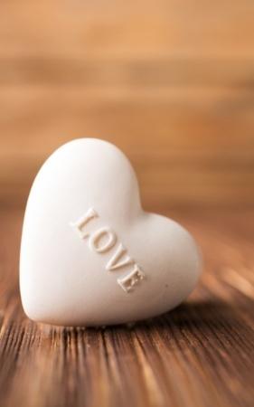 Lovely White Heart IPhone Wallpaper Mobile Wallpaper