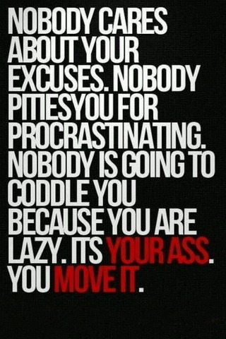 Nobody Cares About Ur Excuses IPhone Wallpaper Mobile Wallpaper
