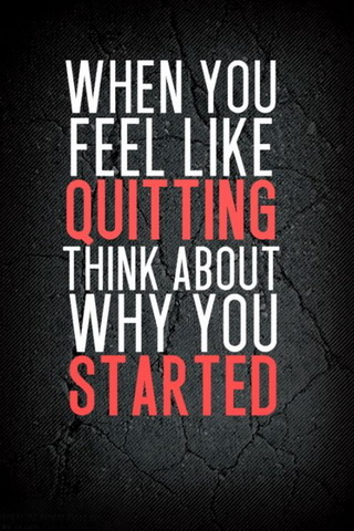 When U Feel Quitting Android Wallpaper Mobile Wallpaper