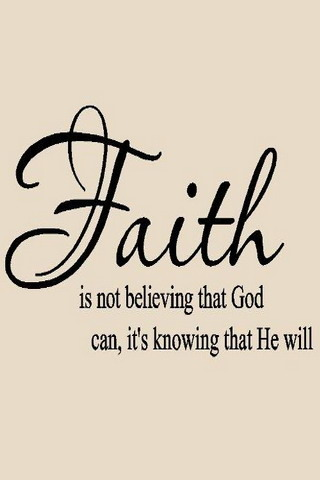 Faith Android Wallpaper Mobile Wallpaper