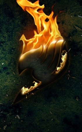 Fire Tail Awesome 3D IPhone Wallpaper Mobile Wallpaper