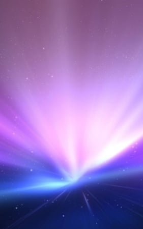 Purple Aurora 3D Colors IPhone Wallpaper Mobile Wallpaper