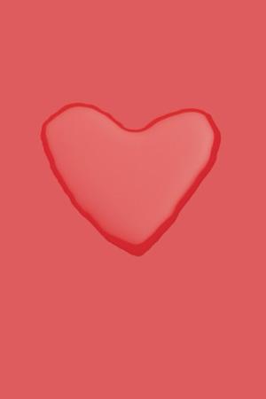 Red Beauty Love Water Heart IPhone Wallpaper Mobile Wallpaper