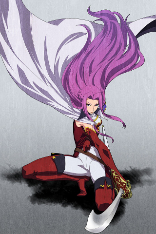 Codegeass Fighter Girl IPhone Wallpaper Mobile Wallpaper