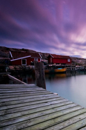 Purple Sky Nature Swedish IPhone Wallpaper Mobile Wallpaper