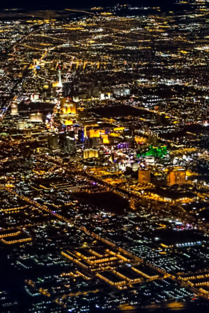 Vegas City Light Over View IPhone Wallpaper Mobile Wallpaper