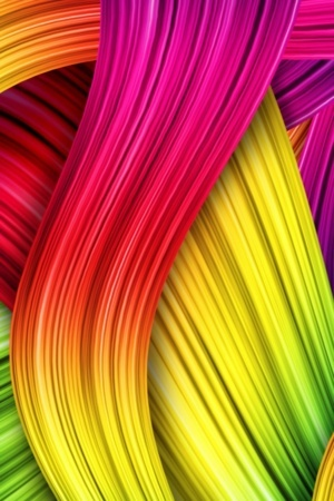 Rainbow Abstract Design IPhone Wallpaper Mobile Wallpaper