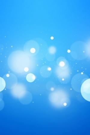 Blue Bokeh IPhone Wallpaper Mobile Wallpaper