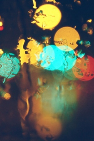 Colors Art Bokeh Glare IPhone Wallpaper Mobile Wallpaper