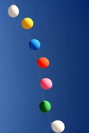 Colors Style Balloon IPhone Wallpaper Mobile Wallpaper