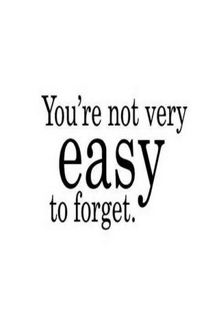 Not Easy To Forget IPhone Wallpaper Mobile Wallpaper