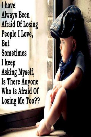 Afraid Of Losing Broken Heart IPhone Wallpaper Mobile Wallpaper