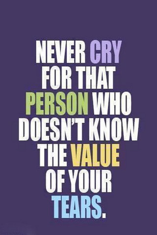 Never Cry That Person IPhone Wallpaper Mobile Wallpaper