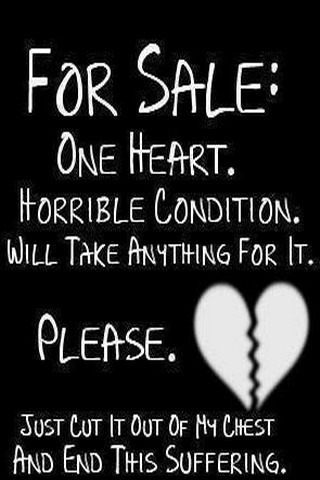 Heart For Sale IPhone Wallpaper Mobile Wallpaper