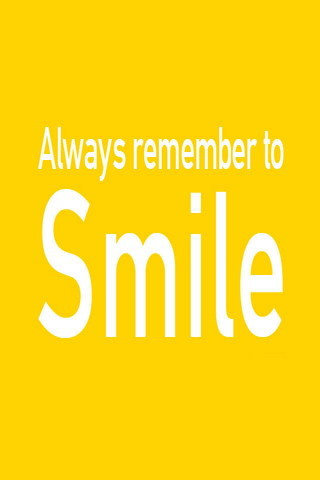 Remember Smile IPhone Wallpaper Mobile Wallpaper