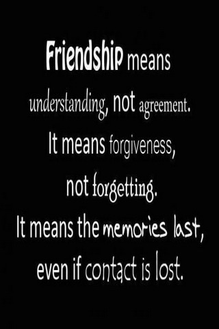 Friendship Lovely Quotes IPhone Wallpaper Mobile Wallpaper
