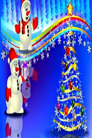 Happy Merry Christmas 2017 IPhone Wallpaper Mobile Wallpaper