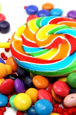 Sweets Colors Sugar Candies IPhone Wallpaper Mobile Wallpaper
