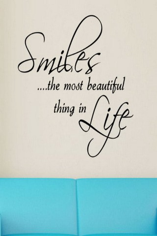 Smiles Most Beautiful Things In Life IPhone Wallpaper Mobile Wallpaper