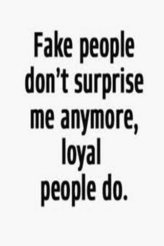 Fake People Dont Surprise Mobile Wallpaper