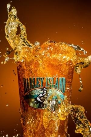 Barley Beer Splash Of Glass Mobile Wallpaper