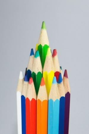 3D Design Pencil Of Colors IPhone Wallpaper Mobile Wallpaper