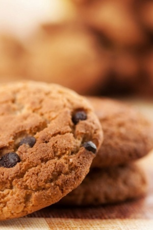 Chocolate Biscuits Chip Sweets IPhone Wallpaper Mobile Wallpaper