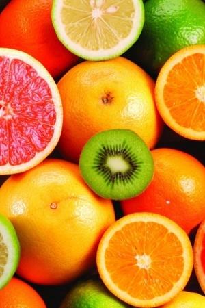 Colors Natural Fruits Lemon IPhone Wallpaper Mobile Wallpaper