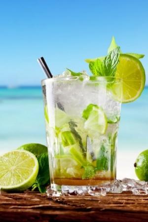 Cocktail Lemon Juice IPhone Wallpaper Mobile Wallpaper