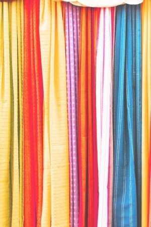 Colored Clothes Abstract Design IPhone Wallpaper Mobile Wallpaper