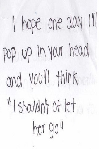I Hope One Day Pop Up In Your Head IPhone Wallpaper Mobile Wallpaper
