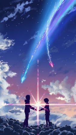 Love In Nights Colors Shine Star Cute Mobile Wallpaper