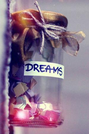 Dreams Life In Jar Mobile Wallpaper