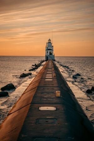 Evening Sea Sunset IPhone Wallpaper Mobile Wallpaper