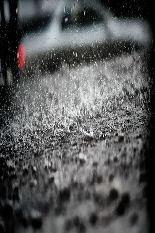 Spectacular Rain Drops IPhone Wallpaper Mobile Wallpaper