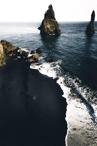 Sea Side Island Natural IPhone Wallpaper Mobile Wallpaper