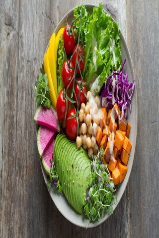 Salad Bowl Healthy For Life IPhne Wallpaper Mobile Wallpaper