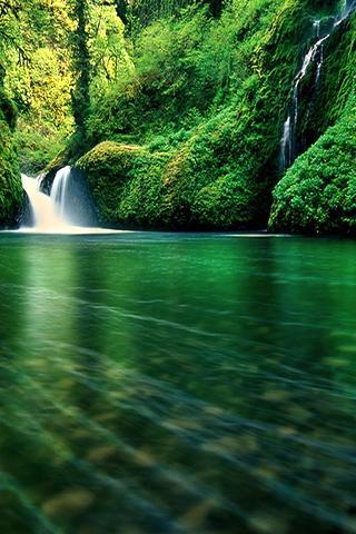 IPhone Waterfall Wallpaper Mobile Wallpaper