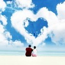 Love Cloud Mobile Wallpaper