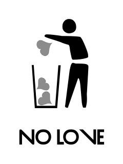 No Love Mobile Wallpaper