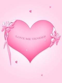 Love Me Tender Mobile Wallpaper